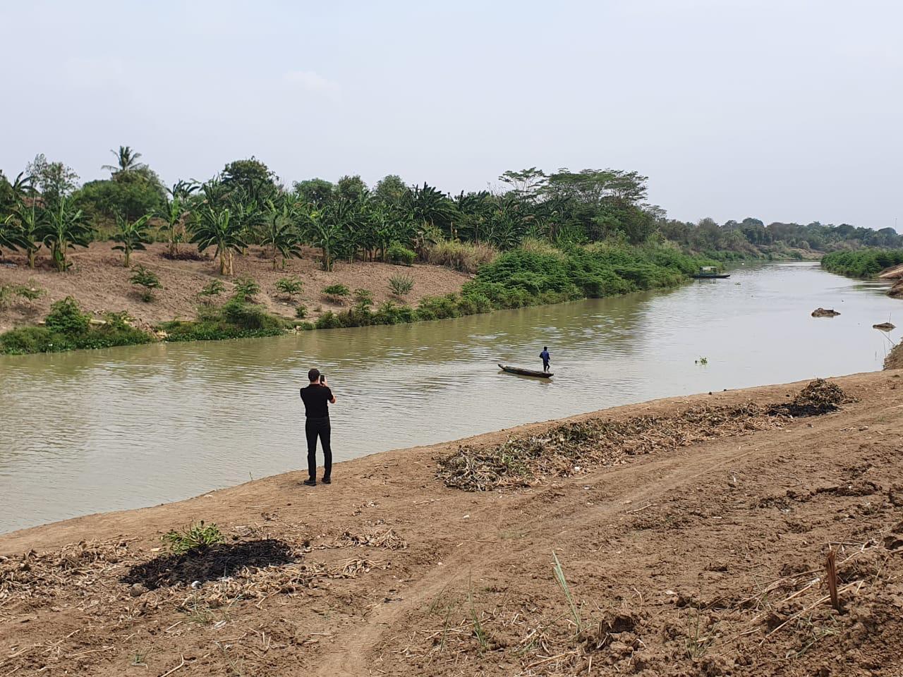 Citarum River near Bekasi